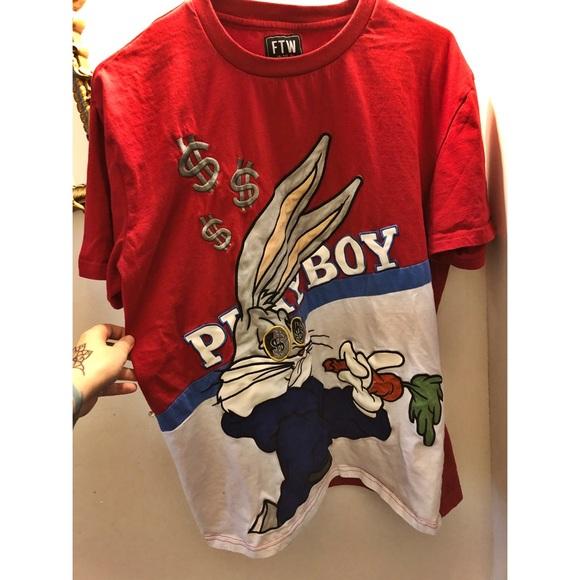 11b51d90a1c9 Urban Outfitters Shirts   Ftw Playboy Bugs Bunny Shirt   Poshmark
